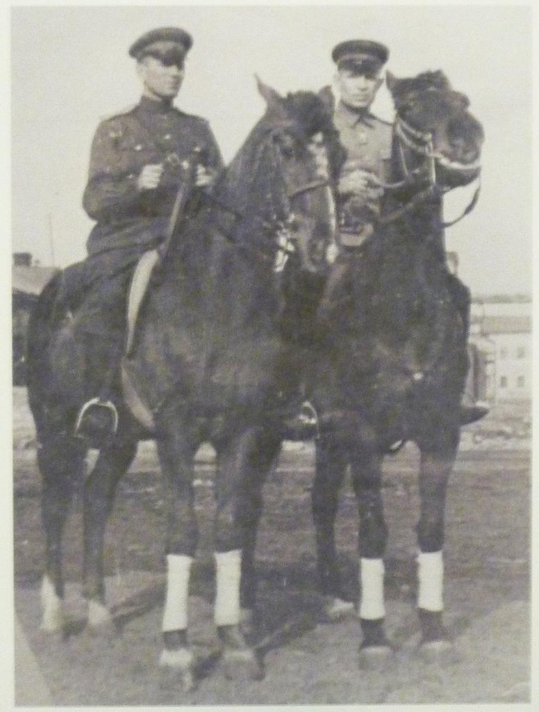 В.А. Лобачев и Г.Т. Анастасьев